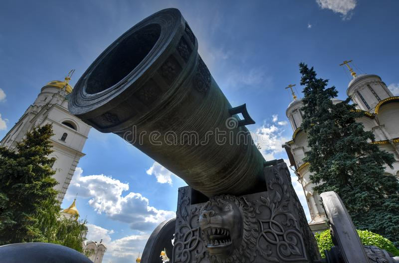 Canhão do czar - Moscou, Rússia imagens de stock royalty free