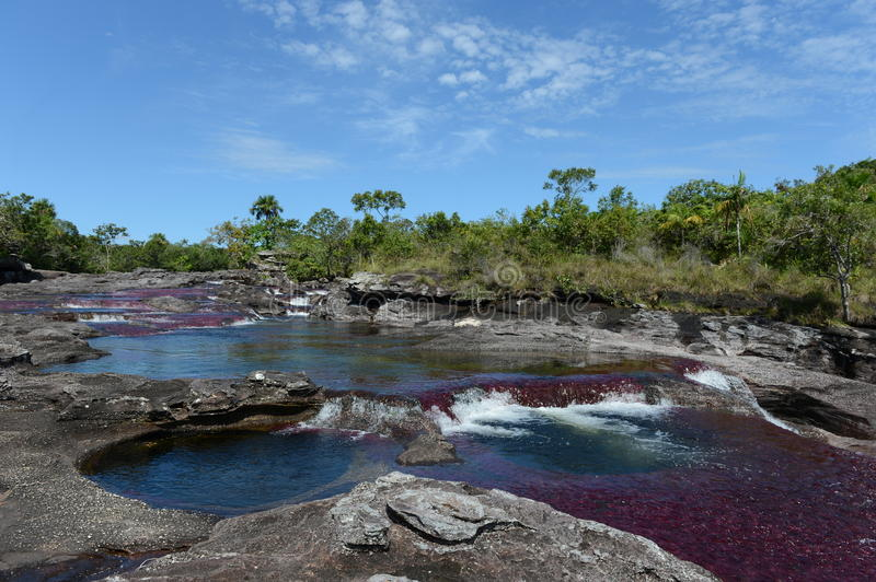 Download Canio Cristales Mountain River. Colombia Stock Image - Image: 30933891