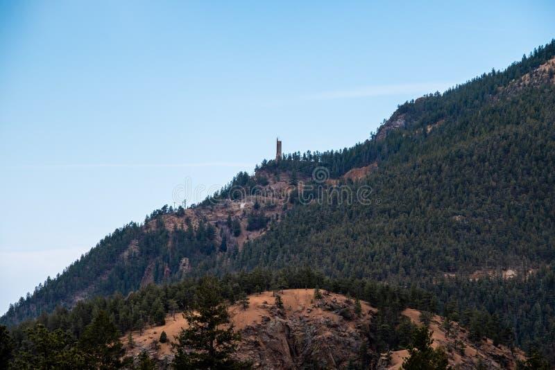 Canioncanon Colorado Springs de Noord- van Cheyenne royalty-vrije stock afbeeldingen