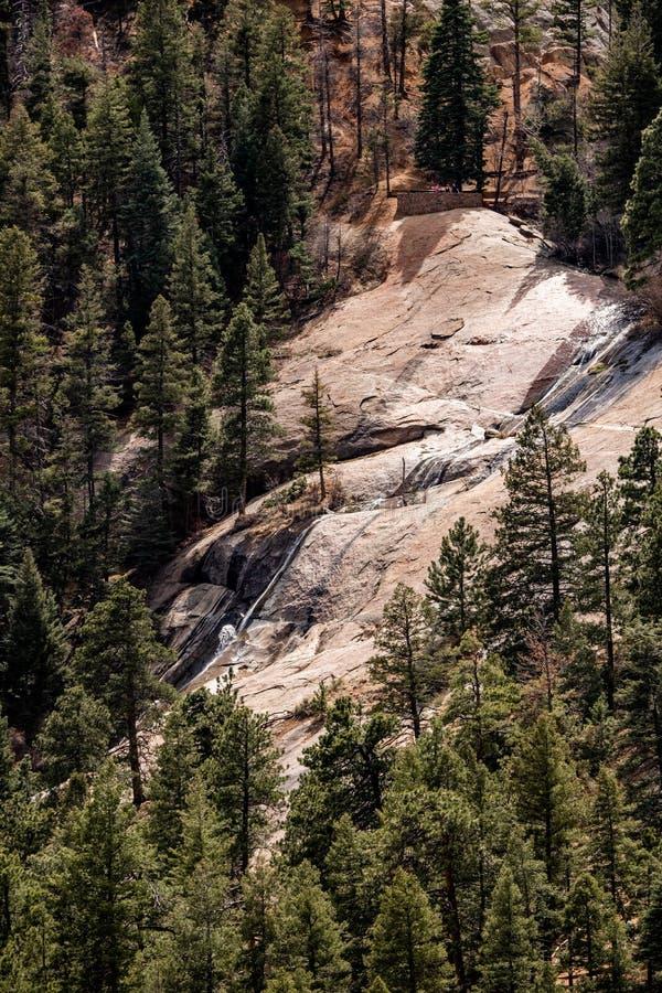Canioncanon Colorado Springs de Noord- van Cheyenne royalty-vrije stock fotografie