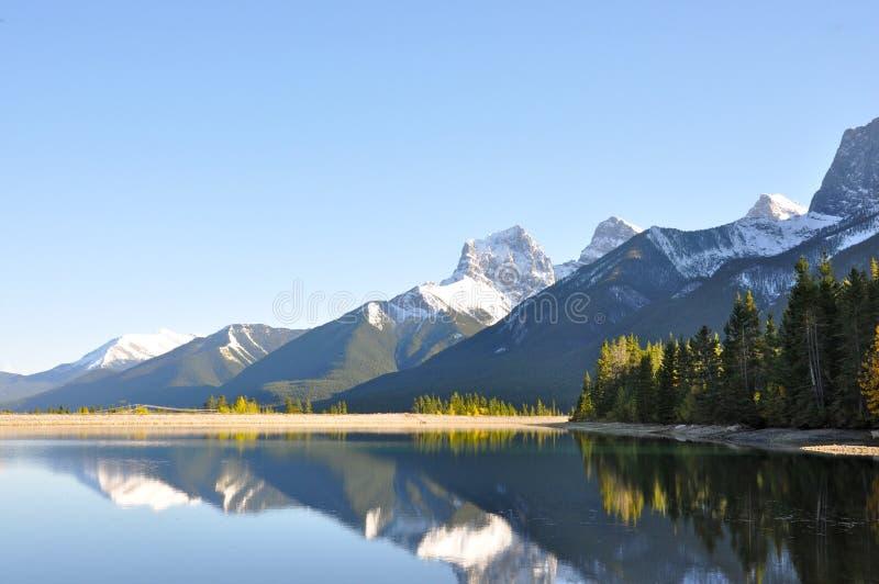 Canmore, Alberta, Canada fotografia stock libera da diritti