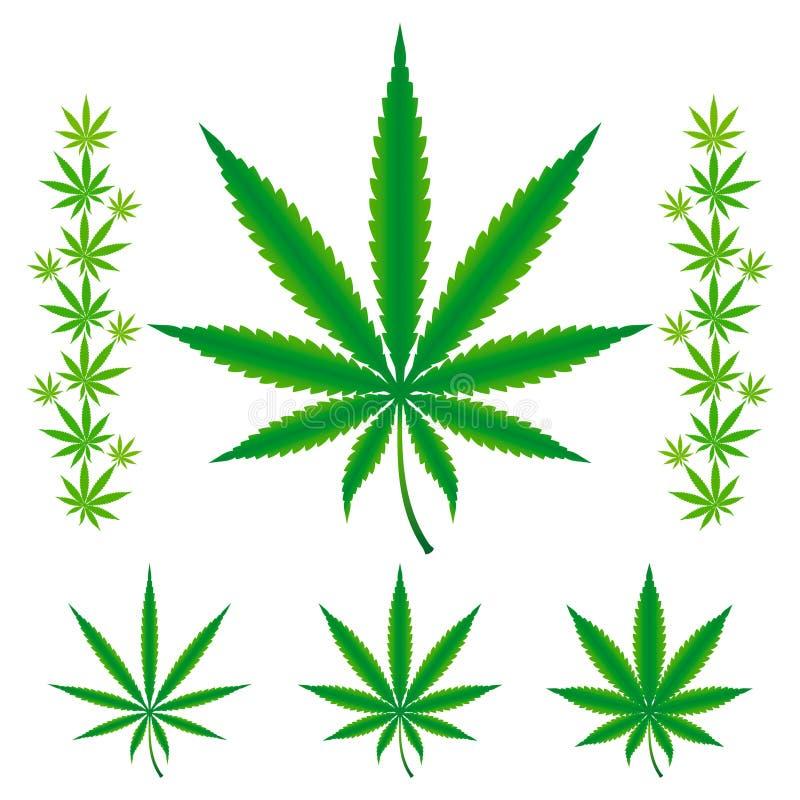 Free Cannabis / Marijuana / Hemp Leafs. Royalty Free Stock Images - 14746159