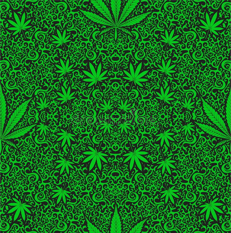 Cannabis weed vector illustration