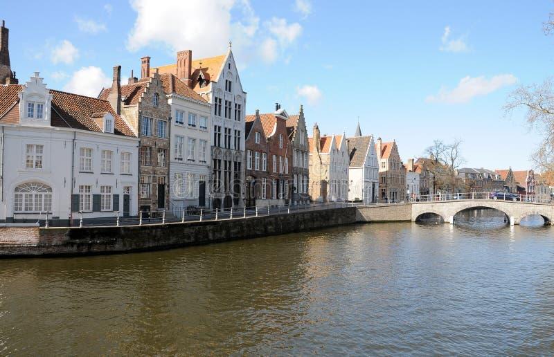 Cannal di Bruges immagini stock libere da diritti