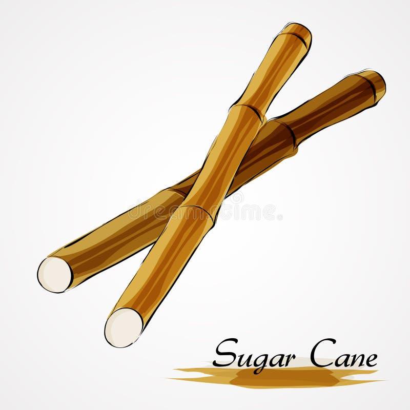 Canne da zucchero illustrazione di stock