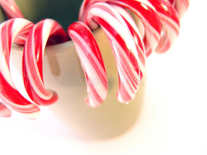 Download Canne di caramella immagine stock. Immagine di festa, commestibile - 7317455