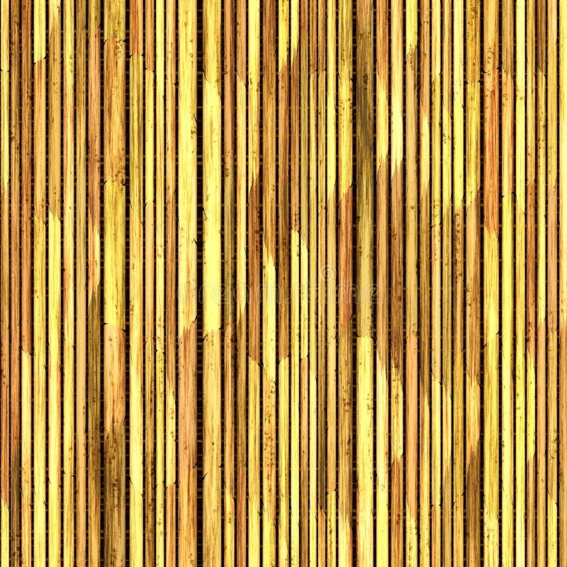 Canne ricoperte di paglia illustrazione vettoriale
