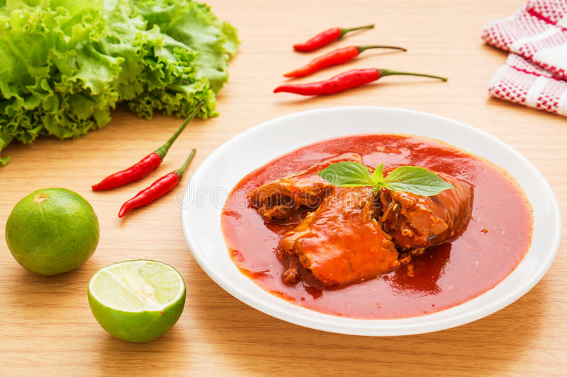 Canned fish in tomato sauce on plate royalty free stock photo