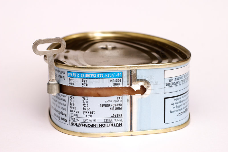 Canned Pork Royalty Free Stock Images