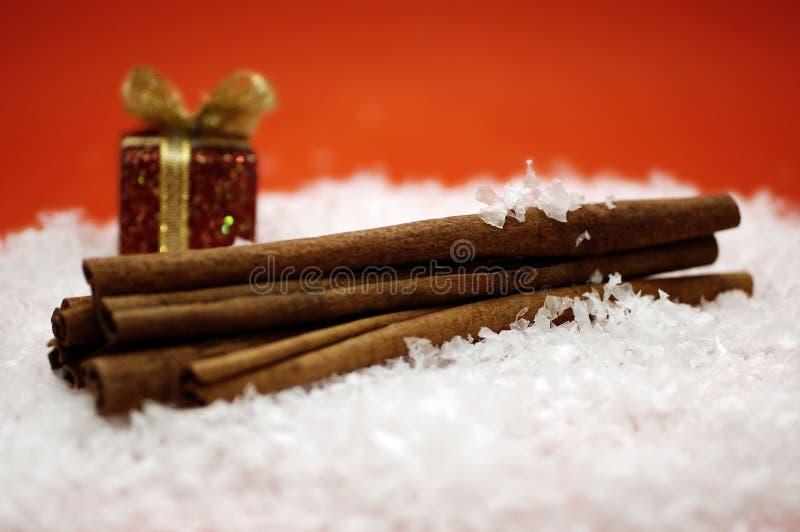Cannelle de Noël image stock