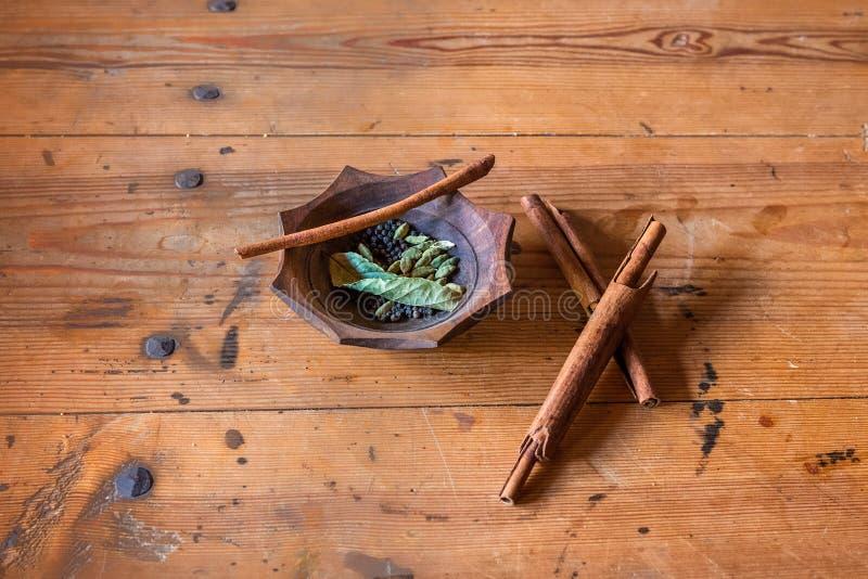 Cannelle et épice photos stock