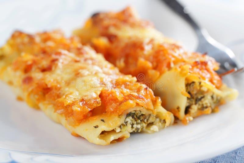 Cannelloni photo stock