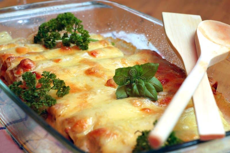 Cannelloni fotografia de stock