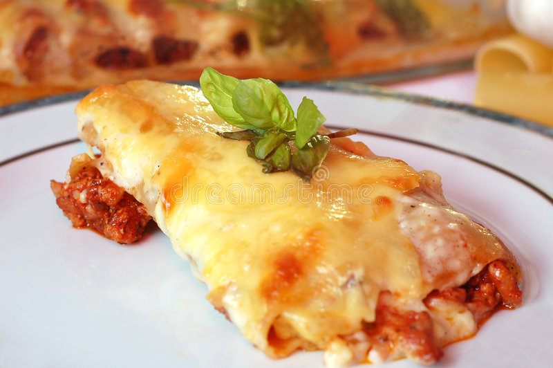 Cannelloni photos libres de droits