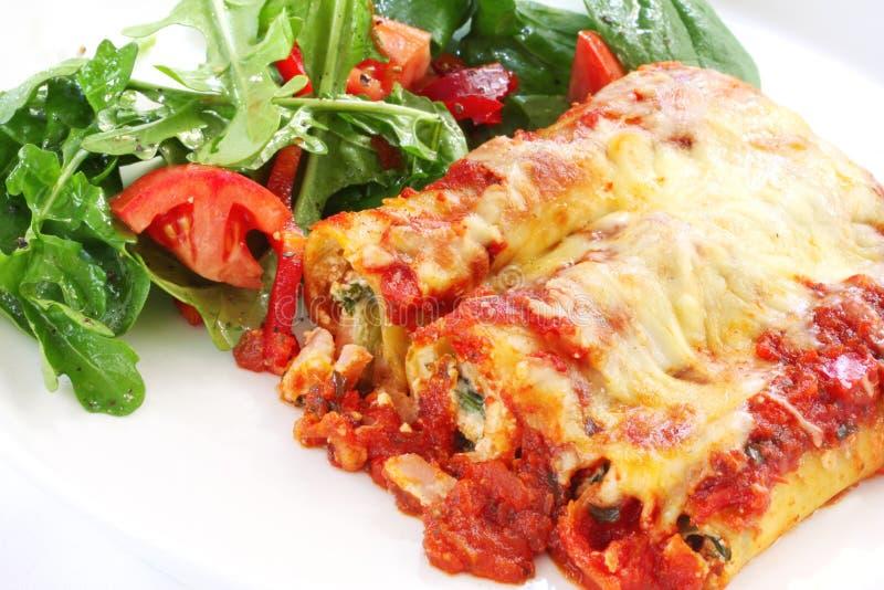Cannelloni image libre de droits