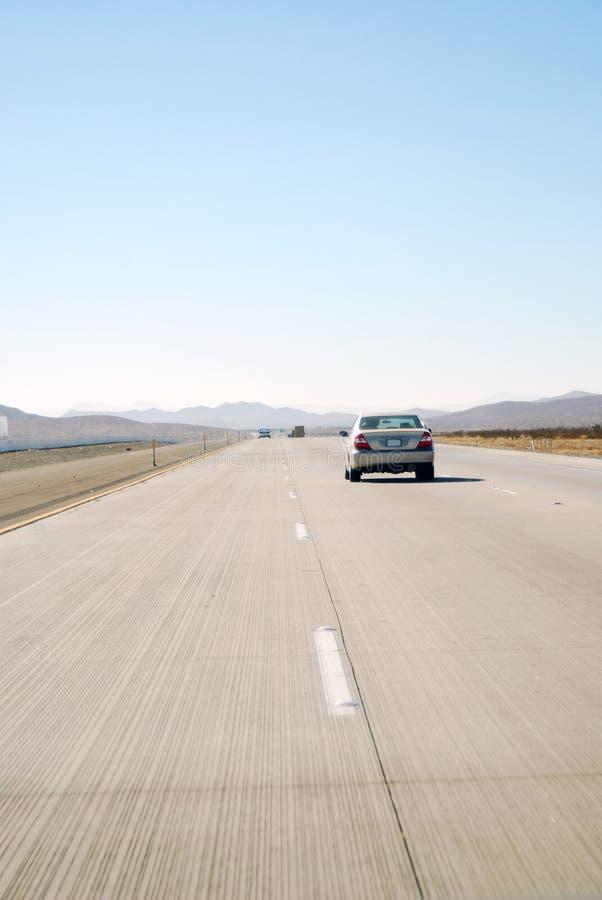 Cannelures de route photographie stock