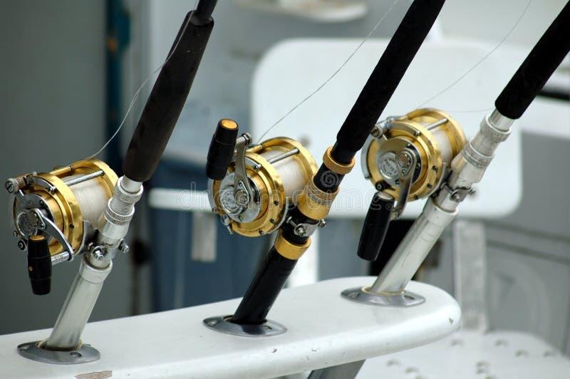 Cannes à pêche photos libres de droits