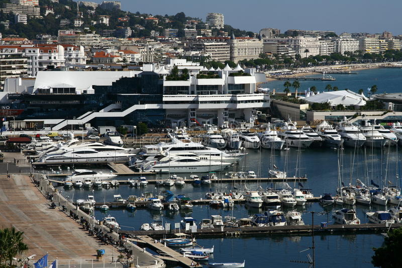 Cannes foto de stock