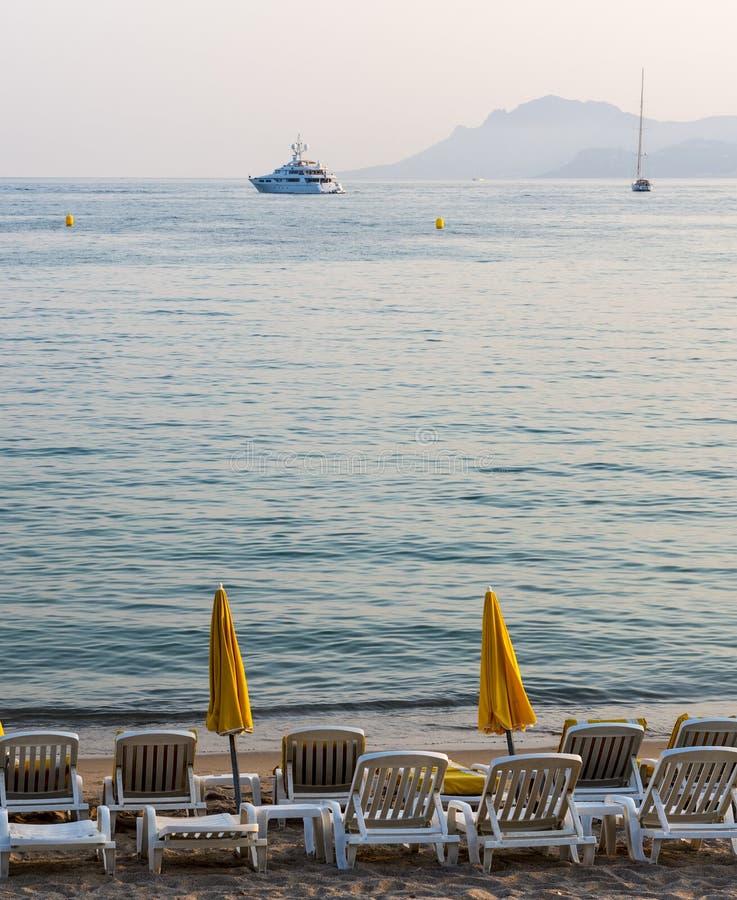 Cannes stock afbeelding