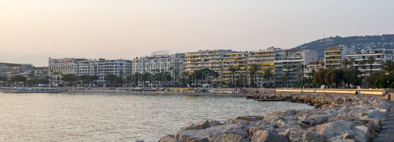 Cannes royalty-vrije stock afbeelding