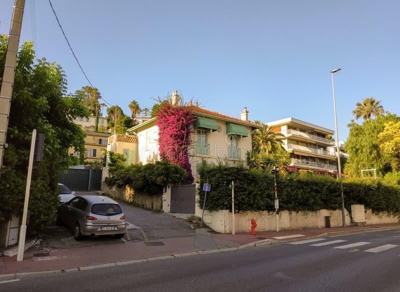 Cannes - arkitektur av staden royaltyfria foton