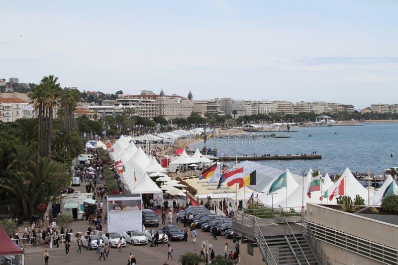 Cannes, Croisette photos stock
