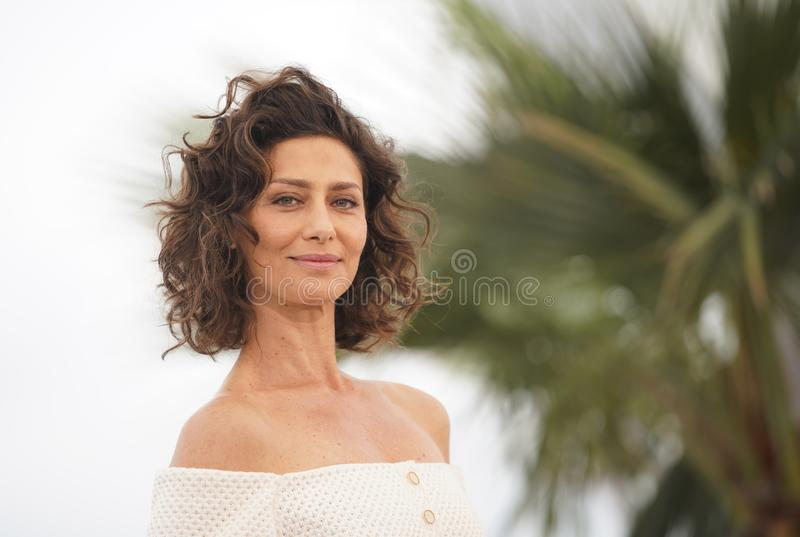 CANNES, FRANCE - MAY 24, 2019: Maria Fernanda Candido attends the photocall for. CANNES, FRANCE - MAY 24, 2019: CANNES, FRANCE - MAY 24, 2019: Maria Fernanda royalty free stock images