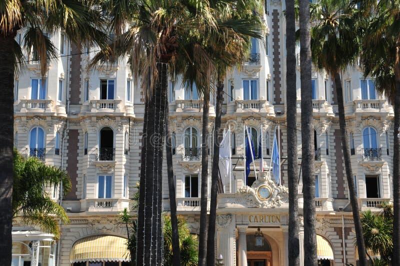 Cannes, Francia - 15 de abril de 2016: Carlton imagen de archivo