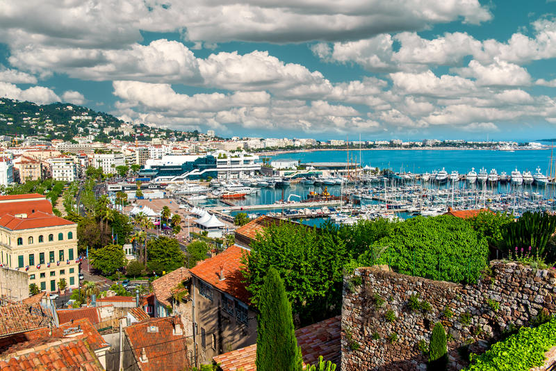 Cannes, Francja obrazy stock