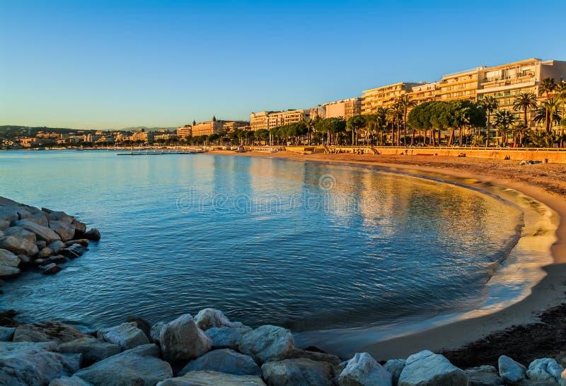 Cannes fransman riviera arkivfoton