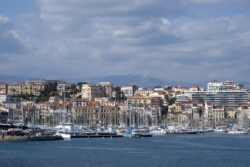 Cannes, französischer Riviera lizenzfreie stockfotografie