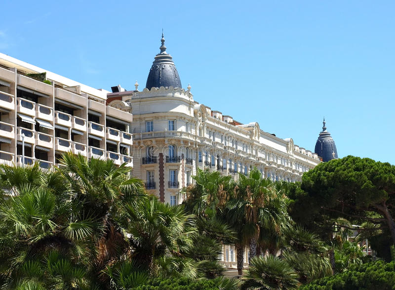 Cannes - hotel imagens de stock royalty free
