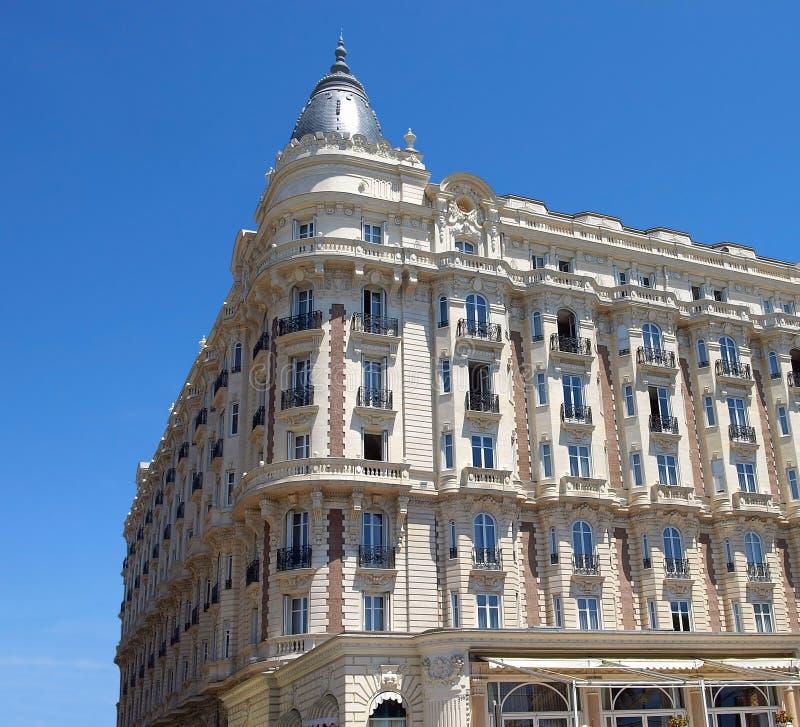 Cannes - hotel foto de stock royalty free