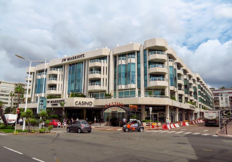 Cannes - hotel di Jw Marriott fotografia stock libera da diritti