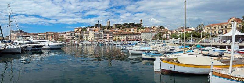 Cannes - opinião Le Suquet fotografia de stock