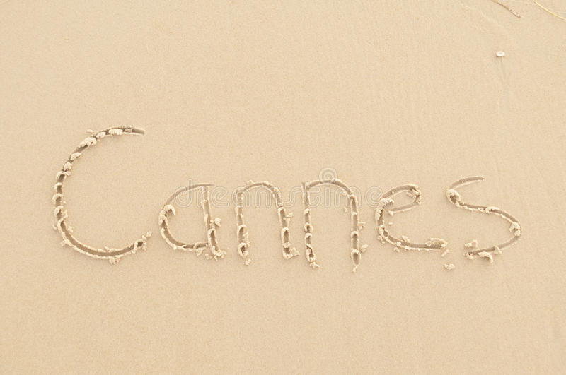 Cannes royalty free stock photos