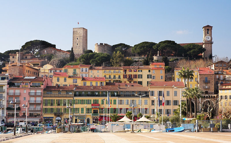 Download Cannes skyline stock image. Image of square, religion - 2569933