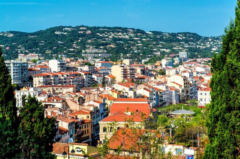 Cannes stad arkivbilder