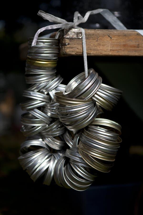 Cannig Jar Lids Wreath