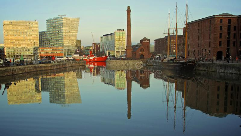 Canning Dock Liverpool royalty free stock images
