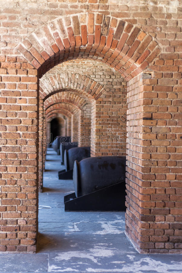 Cannon and Arches stock photos