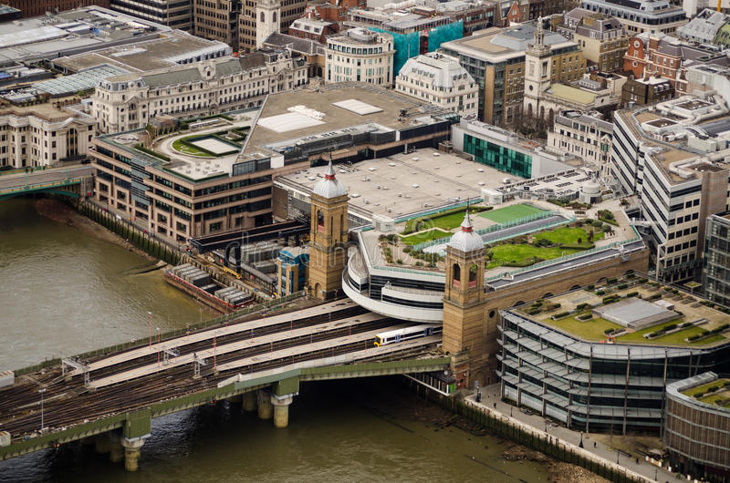 Download Cannon Street Station And Bridge, London Stock Image - Image: 32322747