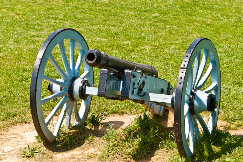 Cannon at Valley Forge National Park royalty free stock image
