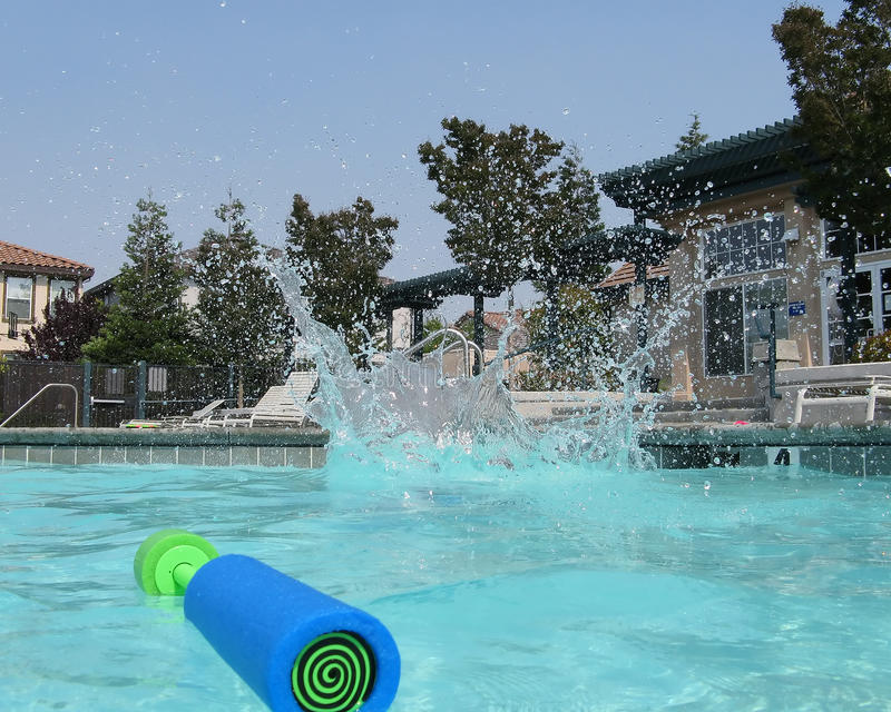 Download Cannonball Finish stock photo. Image of water, summer - 12640606
