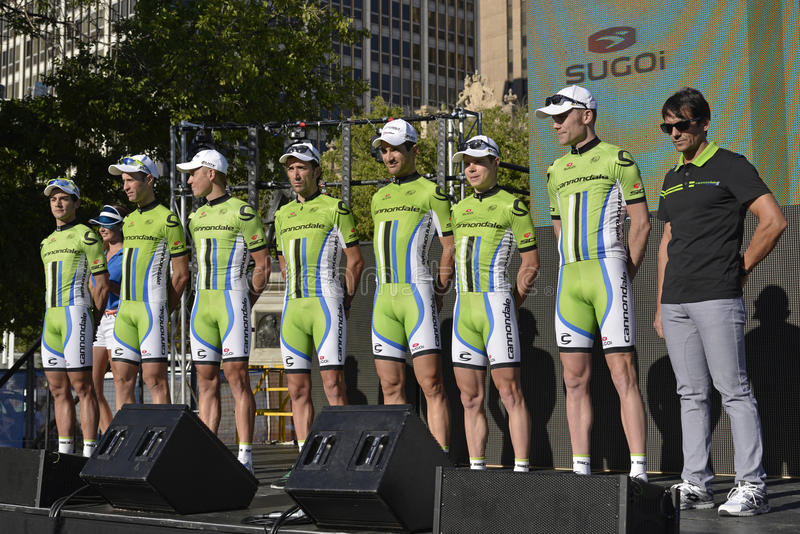 Download Cannondale Professional Cycling Team Editorial Photography - Image of sprint, bicycle: 28731687