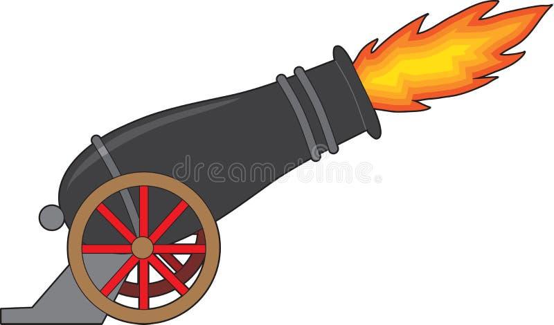 Cannone illustrazione di stock