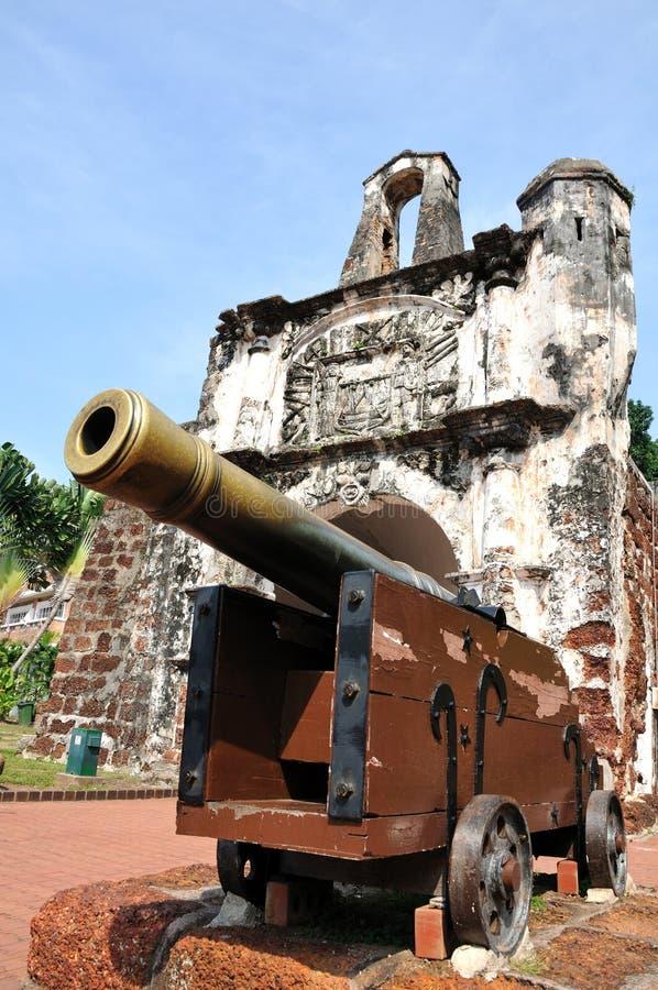 Cannone antico fotografie stock