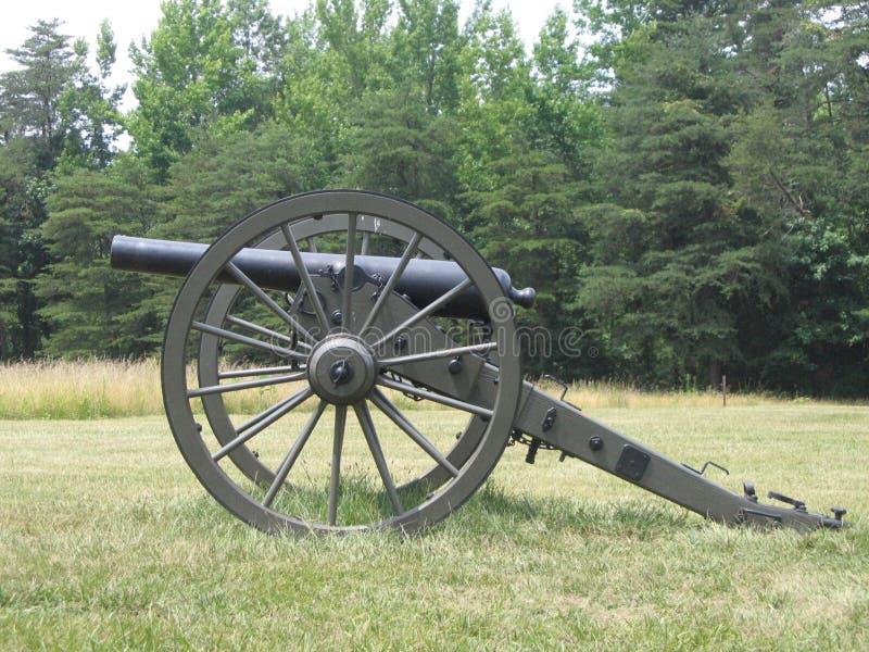 Cannone a Chancellorville fotografia stock