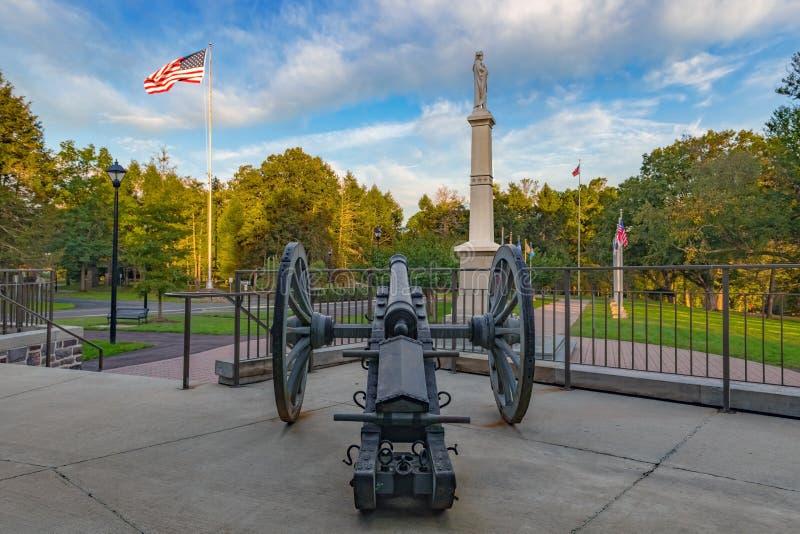 Cannone commemorativo fotografie stock