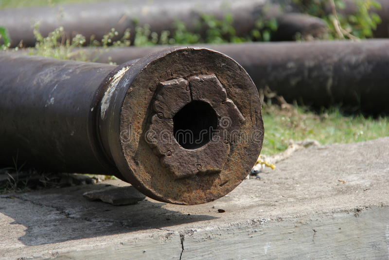 Cannone della fortificazione di Naldurg immagini stock libere da diritti